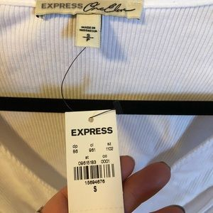 Express Tops - NWT faux wrap top
